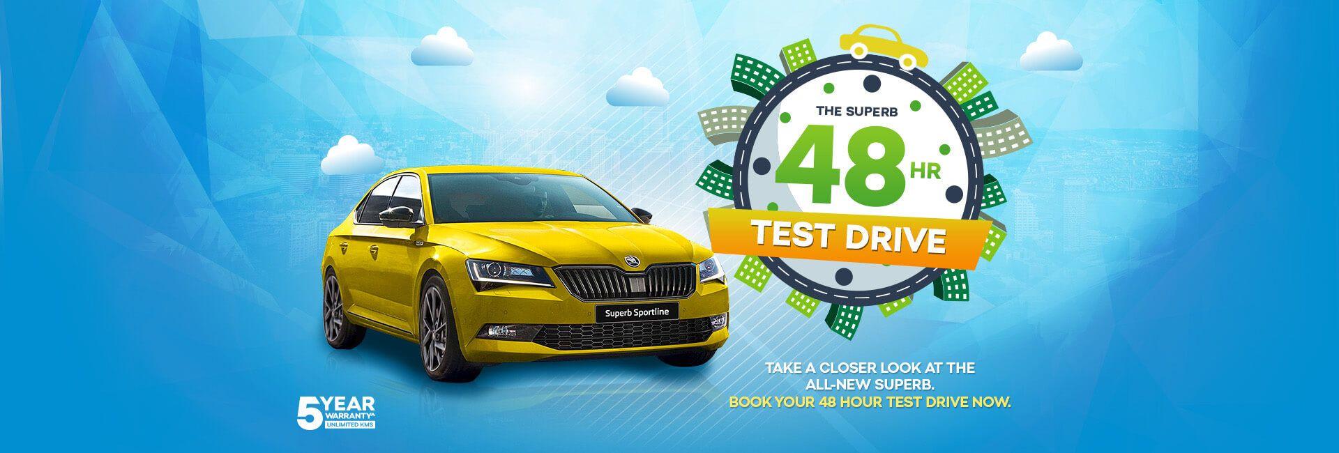 Skoda 48HR Test Drive