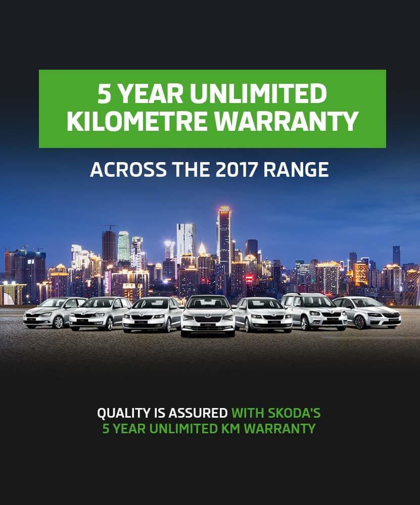 Skoda 5 Year Warranty