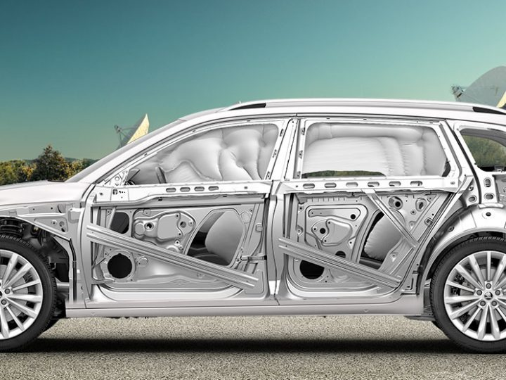 Four Features of the Skoda Superb