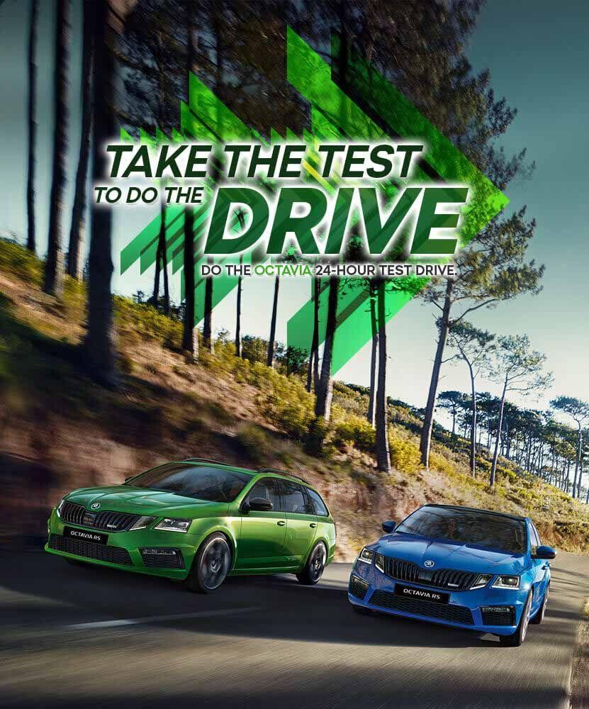 Skoda Octavia Test Drive
