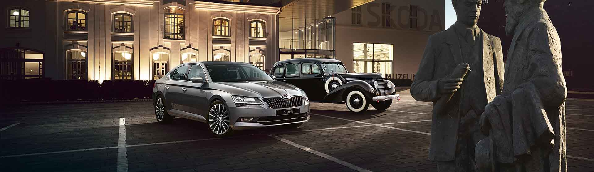 Skoda New Superb