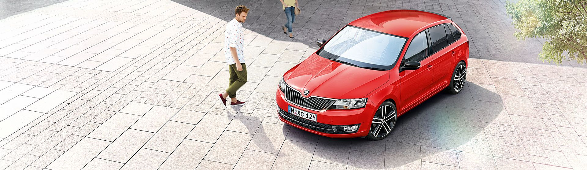 Skoda Rapid Spaceback Overview Top Banner