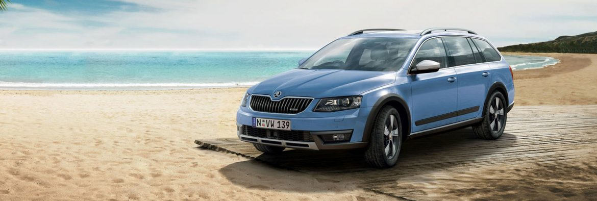 skoda octavia scout 4x4 model hero