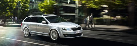 skoda octavia wagon model hero