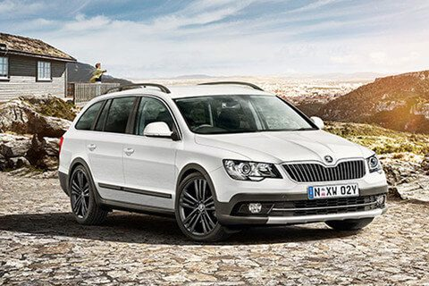 skoda superb wagon range