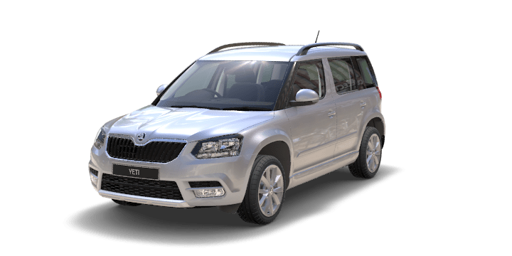 Skoda Yeti Brilliant Silver Metal 60
