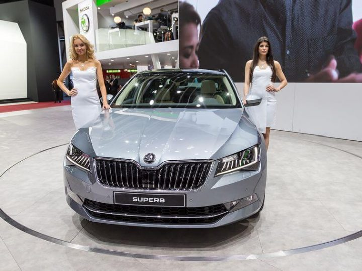 New Skoda Superb Upgrades Announced for 2018