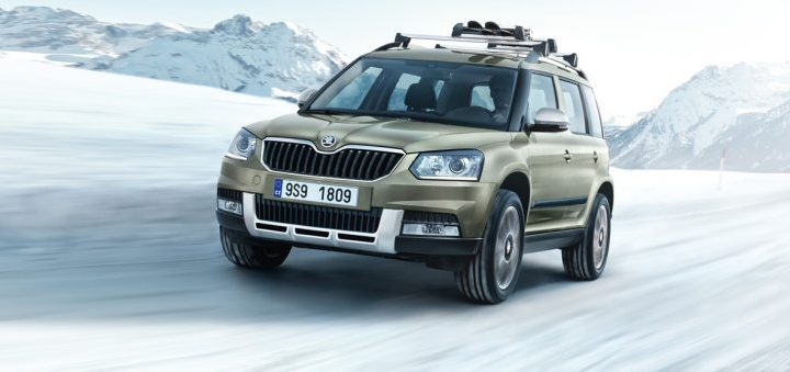 A Review of the 2017 Skoda Yeti 110TSI