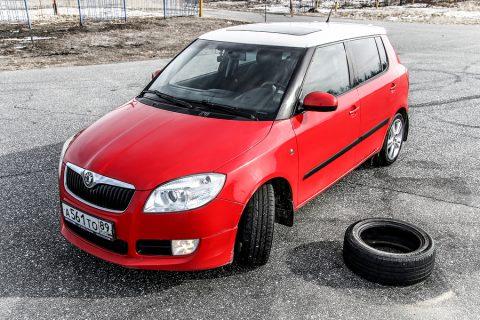 Skoda Fabia Tyre