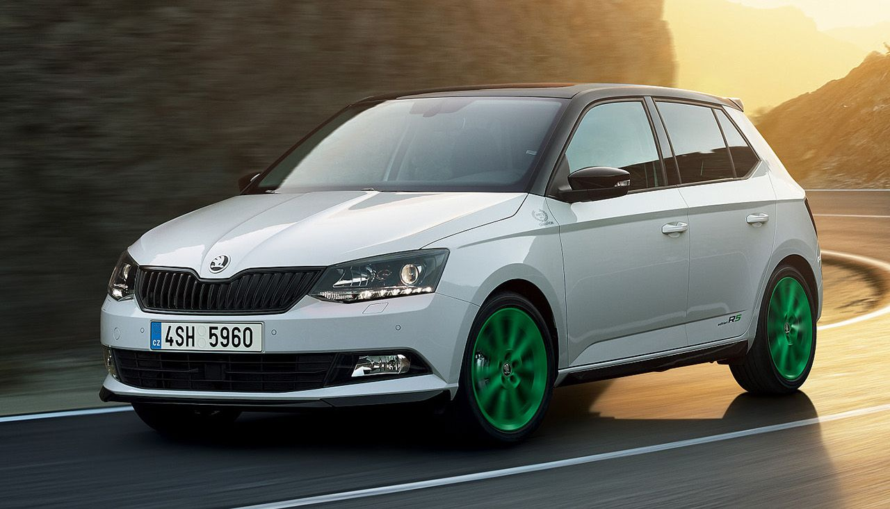 2018 skoda fabia car revealed ahead of geneva show. Black Bedroom Furniture Sets. Home Design Ideas