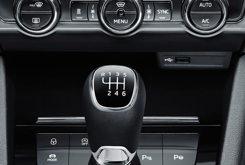 ŠKODA OCTAVIA DUAL-ZONE-AIR-CONDITIONING