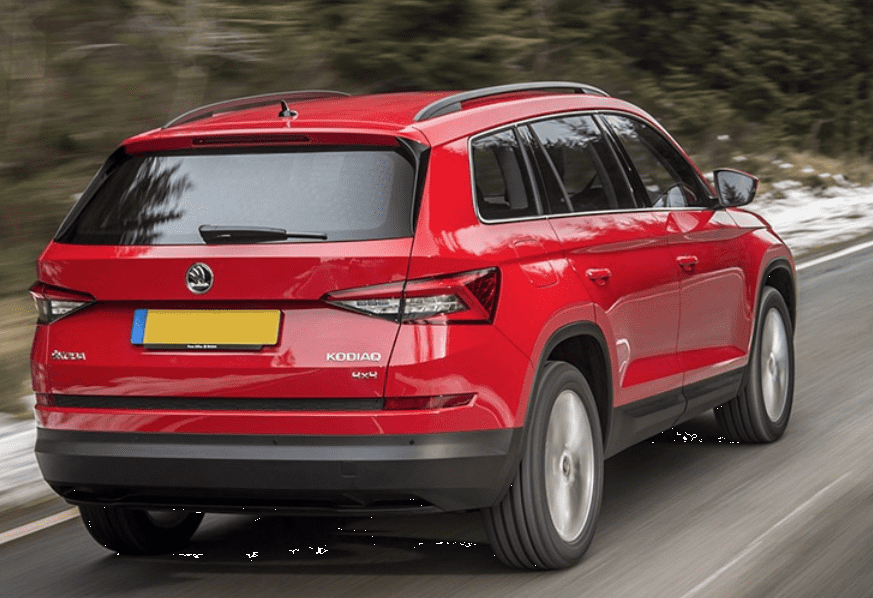 Skoda Kodiaq On The Road