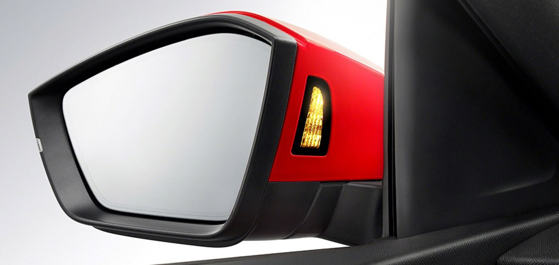 Corrida Red Skoda Car Side Mirror