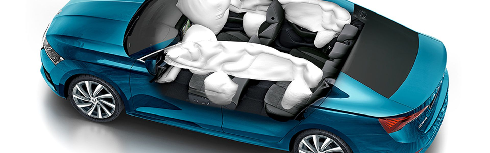 ŠKODA OCTAVIA Best AIRBAGS Safety