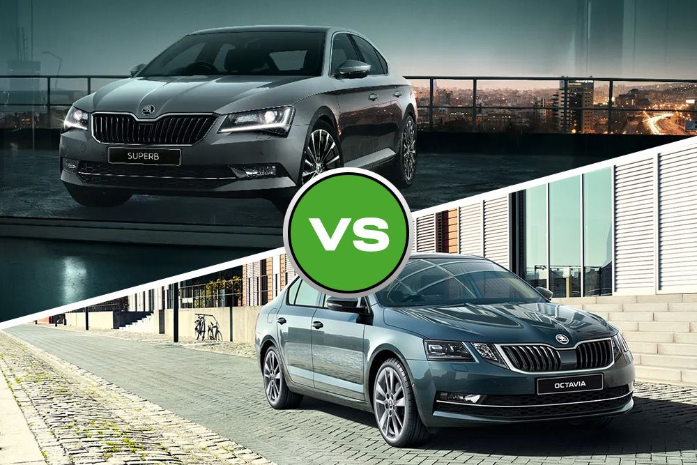 Skoda Superb or Octavia large