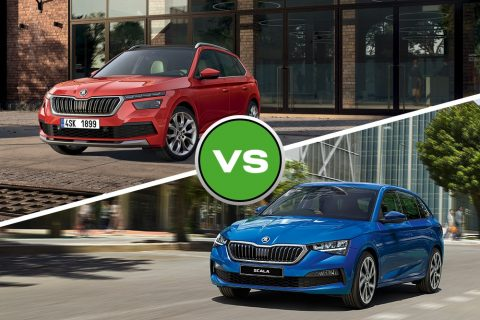 skoda kamiq vs scala