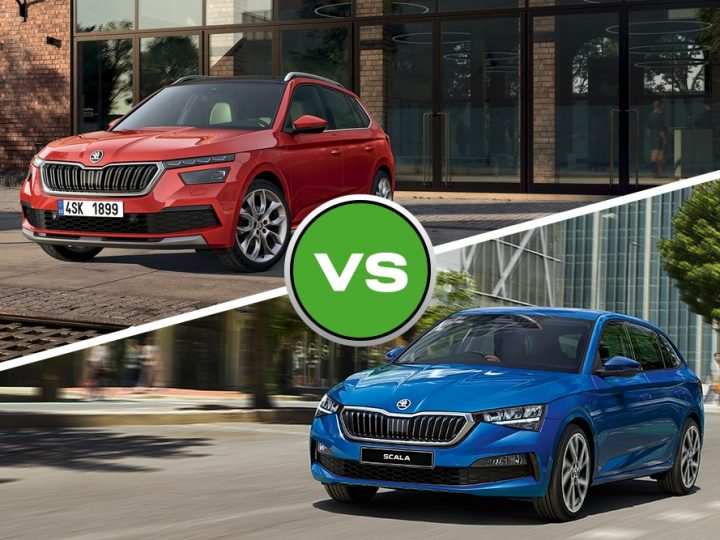 Can't decide? Compact Crossover meets Stylish Sportswagon. Kamiq vs Scala