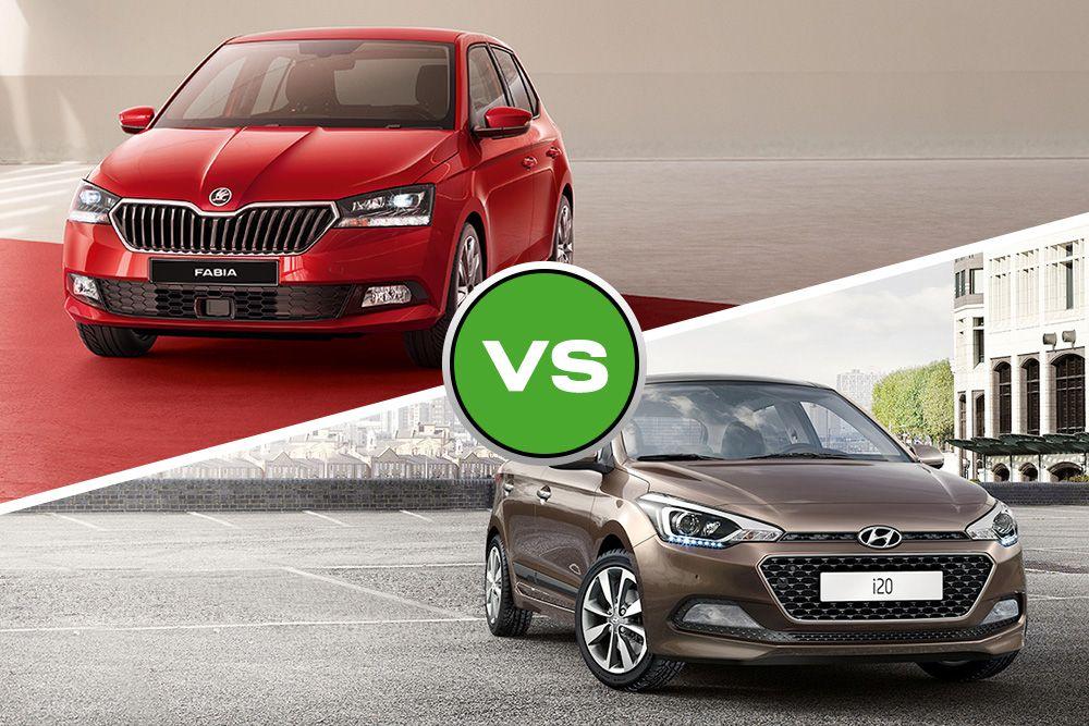 Skoda Fabia vs Hyundai i20 Review