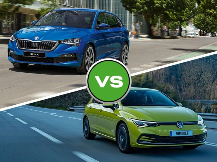 Head to Head: Skoda Scala vs Volkswagen Golf