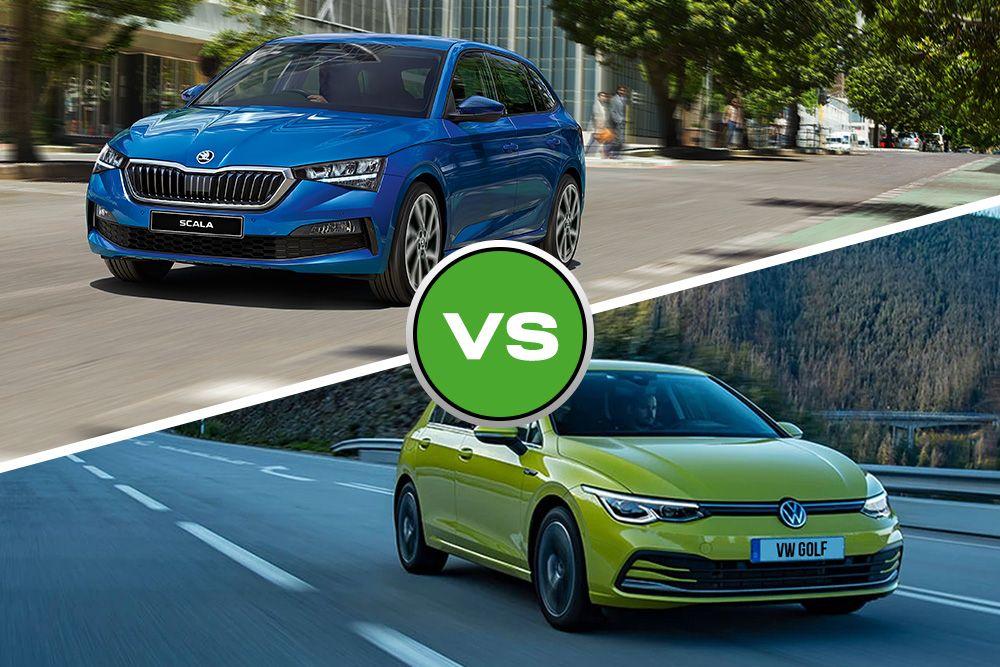 Head to Head: Skoda Scala vs Volkswagen Golf