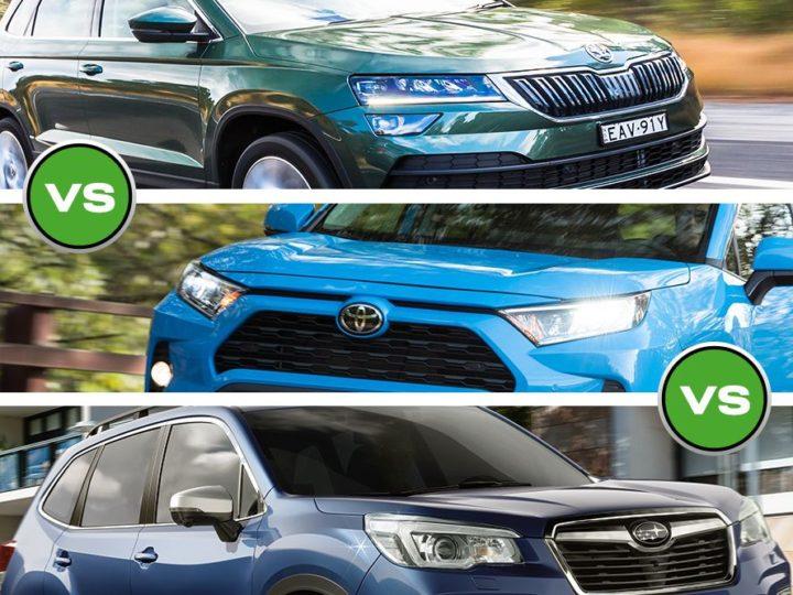 Skoda Karoq vs Toyota RAV4 vs Subaru Forester – Battle of the Midsize SUVs