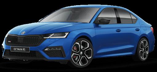 New Skoda Octavia RS Blue