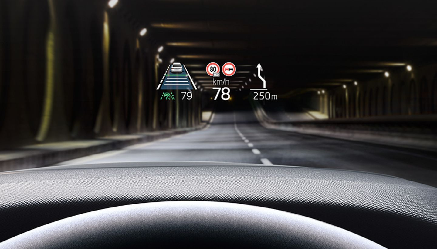 ŠKODA OCTAVIA Skoda Octavia Head Up Display