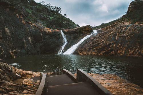Take a dip at Serpentine Falls Skoda Perth
